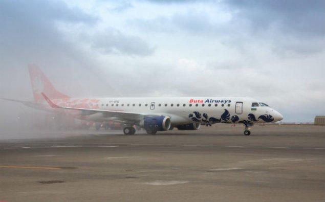"""""""Buta Airways"""" daha bir """"Embraer E-190"""" təyyarəsi alıb"""