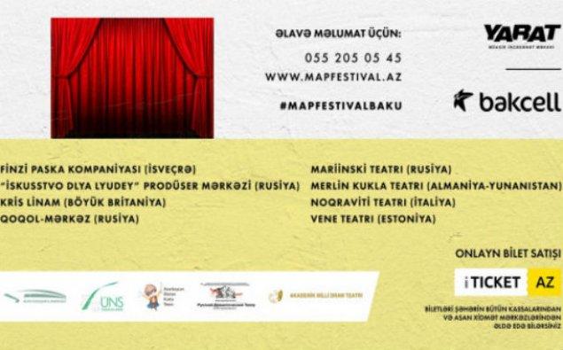 """""""Bakcel""""in baş sponsorluğu ilə Bakıda M.A.P. festivalı keçiriləcək"""