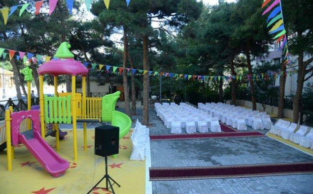 Nəsimi rayonunda yeni park istifadəyə verildi – FOTO