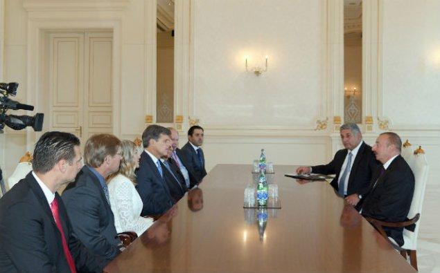 Prezident İlham Əliyev Xüsusi Olimpiya Komitəsinin sədrini qəbul edib – FOTO
