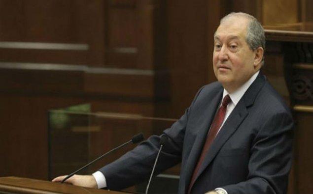 Ermənistan Prezidenti Şuşaya gəldi