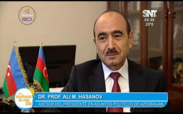 Paraqvayın SNT televiziya kanalı Azərbaycan haqqında reportaj yayımladı – FOTO