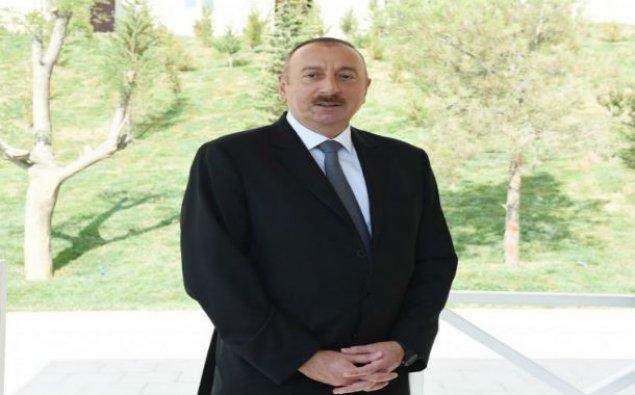 Prezident İlham Əliyev Ağdam rayonunda səfərdədir