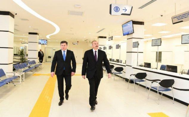 Prezident Əmlak Xidmətləri Məkanının açılışında – FOTO/ YENİLƏNİB