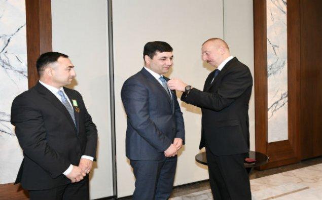 Prezident və xanımı Şirinov qardaşları ilə görüşdülər – FOTO