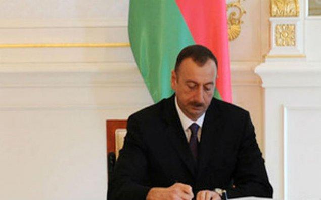 Prezident İlham Əliyev sərəncam imzaladı