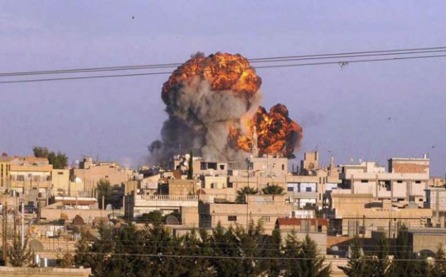 ABŞ-ın Suriyanı bombalaması nəticəsində 16 mülki şəxs ölüb