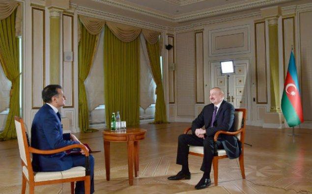 Prezident İlham Əliyev Real TV-yə müsahibə verdi – VİDEO