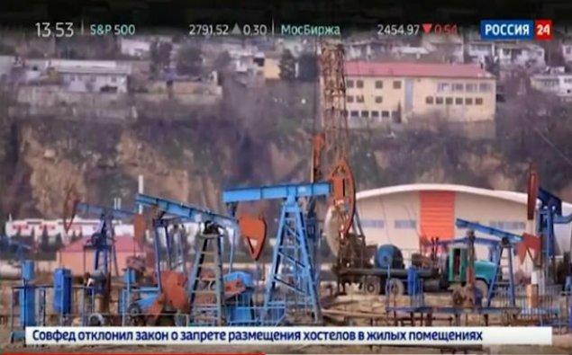 """""""Rossiya 24"""" kanalında Azərbaycan nefti haqqında xüsusi reportaj yayımlanıb - VİDEO"""