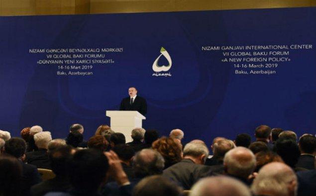 Prezident İlham Əliyev VII Qlobal Bakı Forumunun açılışında iştirak edir – YENİLƏNİB/FOTO