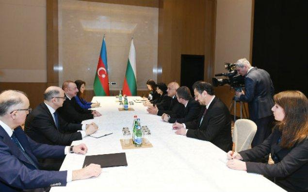 Azərbaycan Prezidenti Bolqarıstanın Baş naziri ilə görüşüb