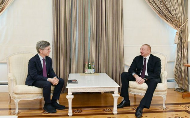 Prezident İlham Əliyev BMT baş katibinin xüsusi müşavirini qəbul edib
