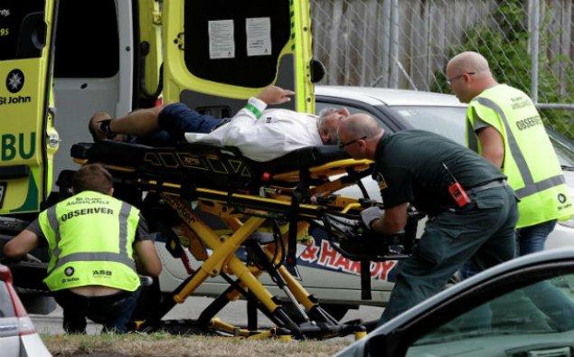 Yeni Zelandiyada terror aktı qurbanlarının sayı artıb