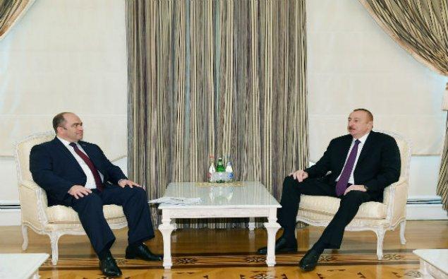 Prezident İlham Əliyev Belarusun Baş nazirinin müavinini qəbul edib