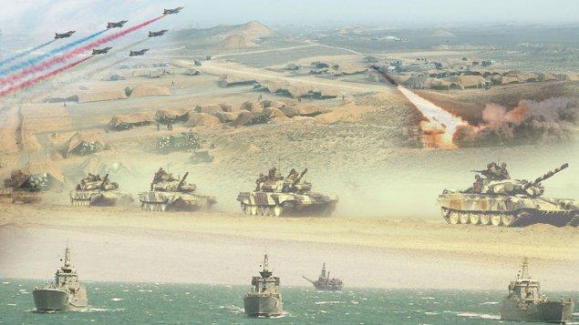 Azərbaycan Ordusunun genişmiqyaslı təlimləri başlayıb - VİDEO