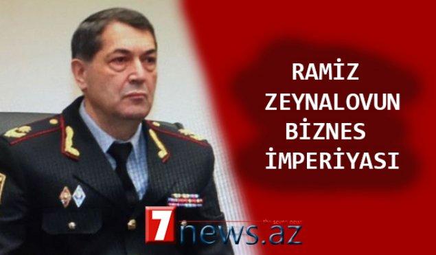 """Daha bir məmurun """"biznes imperiyası""""nın siyahısı yayıldı – BU DƏFƏ GENERAL RAMİZ ZEYNALOV"""