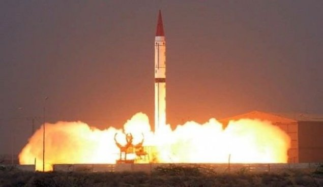 Pakistan yeni nüvə raketini sınaqdan keçirib