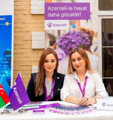 """""""Azercell"""" növbəti dəfə karyera sərgisində iştirak etdi"""