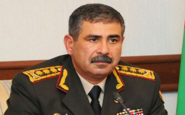 Zakir Həsənov Azərbaycan Ordusunun şəxsi heyətini təbrik edib