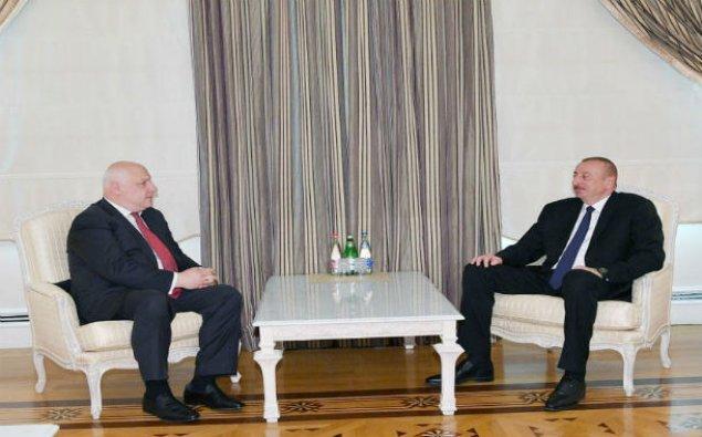 Prezident İlham Əliyev ATƏT Parlament Assambleyasının prezidentini qəbul edib