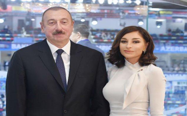 """Prezident İlham Əliyev və Mehriban Əliyeva """"Yanardağ"""" qoruğunun açılışında iştirak ediblər"""