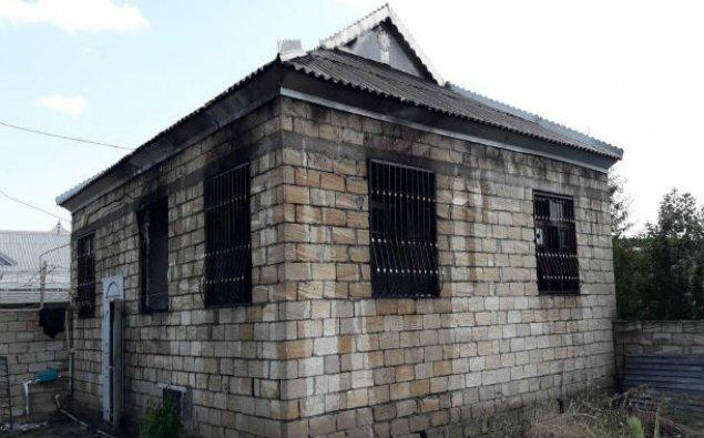 İmişlidə fərdi yaşayış evi yanıb - FOTO