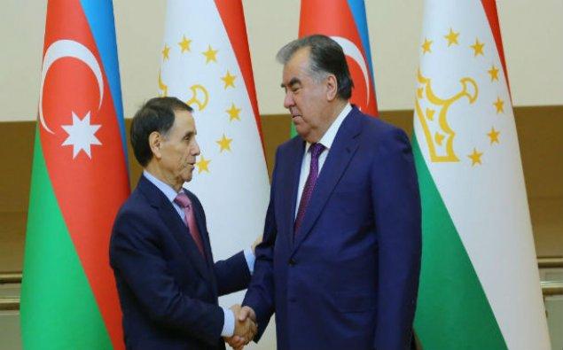 Azərbaycanın Baş naziri Tacikistan Prezidenti ilə görüşüb