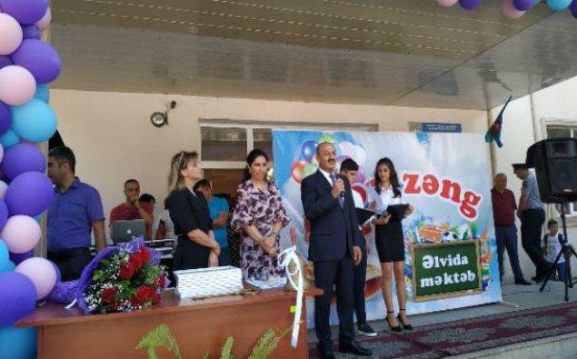 """Nəsimi rayonunda """"Son zəng"""" tədbirləri keçirildi  – FOTO"""