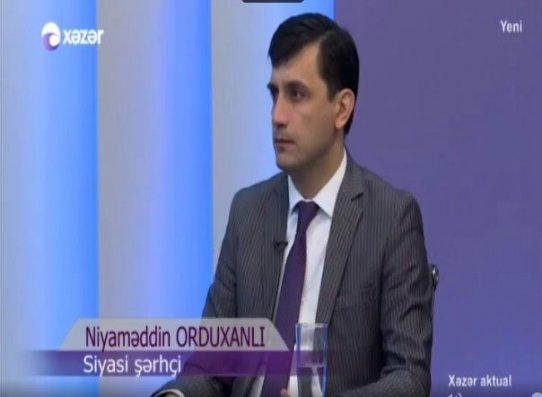 """Niyaməddin Orduxanlı """"Xəzər Aktual""""ın qonağı oldu – VİDEO"""