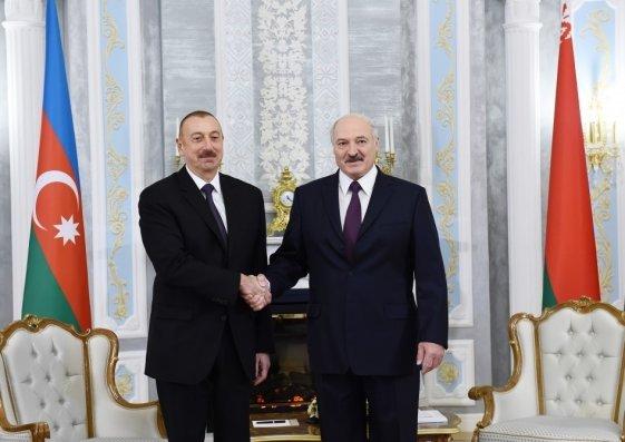 Azərbaycan və Belarus prezidentləri arasında telefon danışığı olub