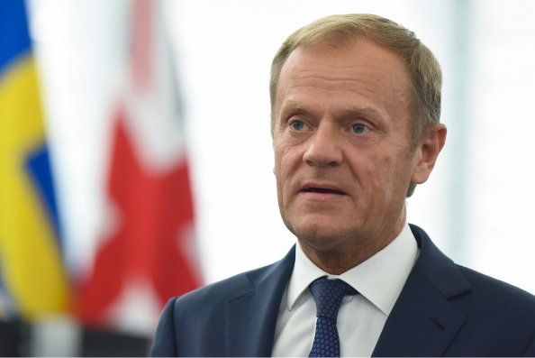 """""""Qarabağ münaqişəsinin hərbi yolla həlli yoxdur"""" – Donald Tusk"""