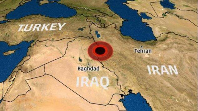 İran İraqla sərhəddə terrorçuların mövqeyini bombalayıb