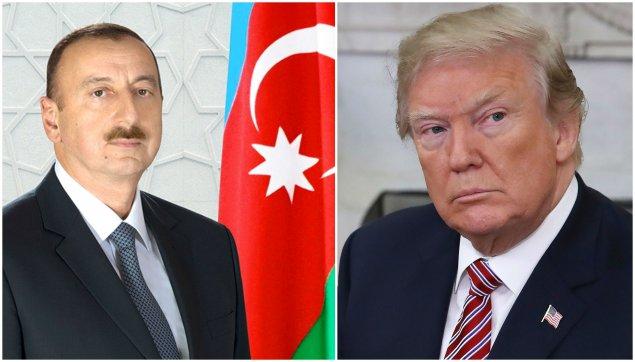 Azərbaycan Prezidenti Donald Trampa başsağlığı verib