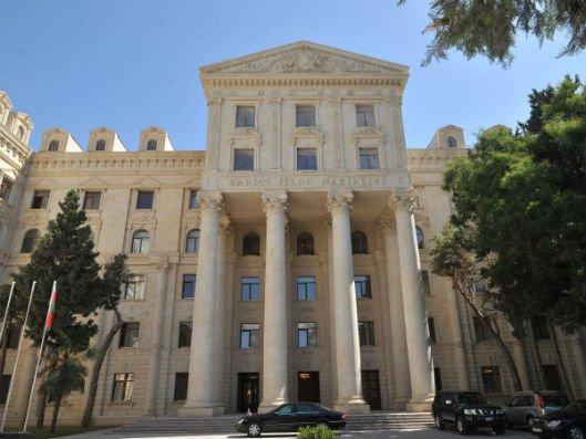 Azərbaycan Xarici İşlər Nazirliyi bəyanat yayıb