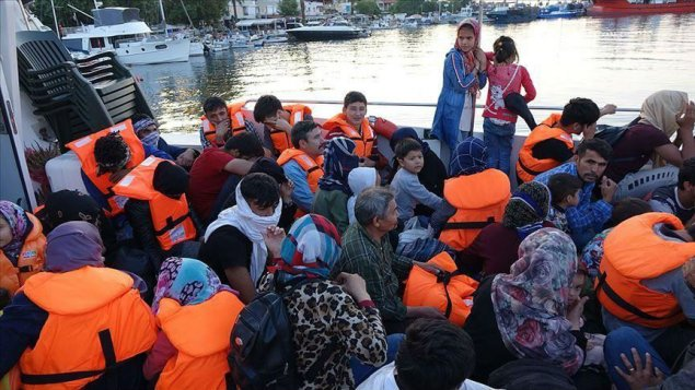 İzmir sahillərində 83 qanunsuz miqrant saxlanılıb