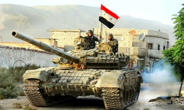 Suriya ordusu 3 səhra komandirini zərərsizləşdirib