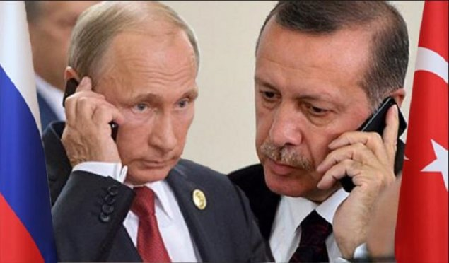 Putin və Ərdoğan arasında telefon danışığı baş tutub