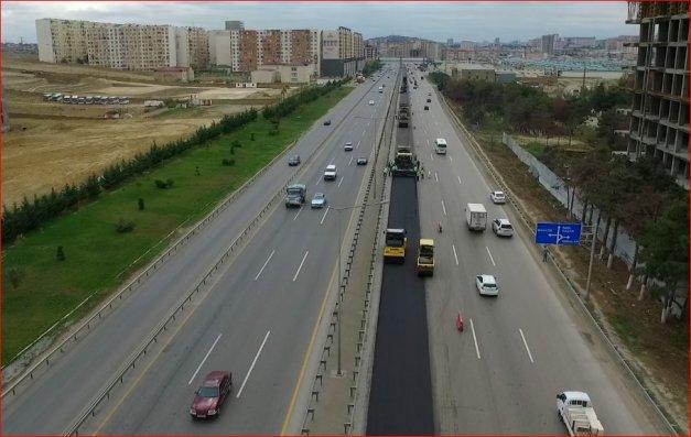 Bakı-Quba-Rusiya avtomobil yolu yenidən qurulur