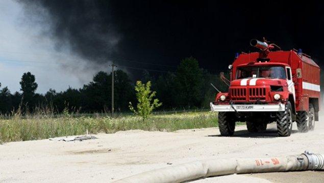 Ukraynada silah anbarında partlayışlar baş verib