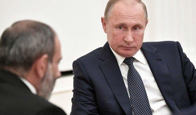 Vladimir Putin Nikol Paşinyanın görüş təklifini rədd edib