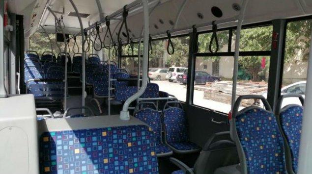 Bakıda daha bir marşrut xəttində avtobuslar yenilənib