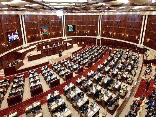 Milli Məclisin payız sessiyasının ilk plenar iclasının gündəliyi məlum olub