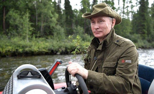 Putin 67 yaşını təbiət qoynunda qeyd edir – VİDEO