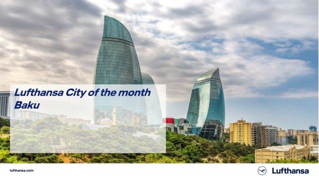 Beynəlxalq aviaşirkət Bakını ayın şəhəri seçib
