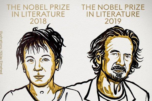2018 və 2019-cu illər Ədəbiyyat üzrə Nobel mükafatçılarının adları açıqlanıb