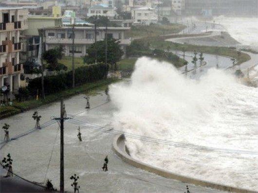 Yaponiyada leysan yağışları səbəbindən ən yüksək təhlükə səviyyəsi elan edilib