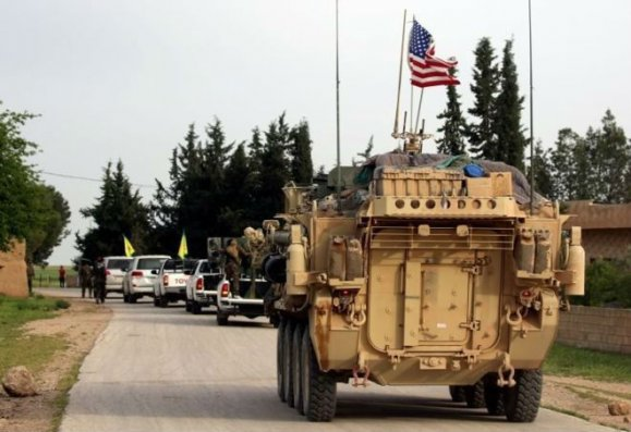 ABŞ hərbçilərini Suriyanın Menbic şəhərindən çıxarıb