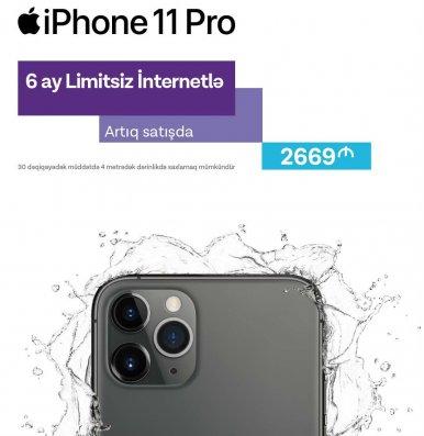 Yeni iPhone telefonlarının imkanlarını Azercell ilə kəşf edin!