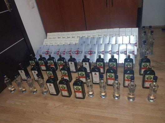 Gürcüstandan qanunsuz yolla gətirilən spirtli içkilər aşkarlandı