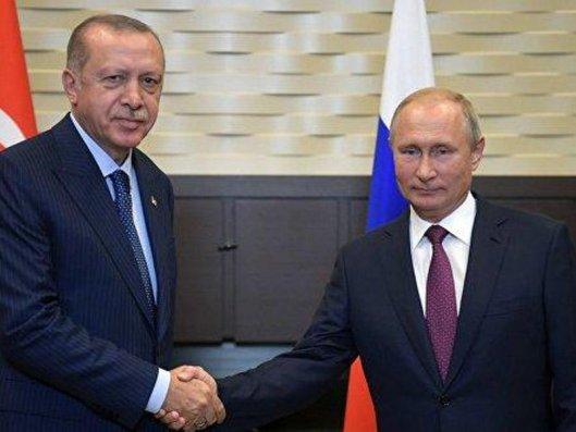 Noyabrın 9-da Putin Ərdoğanla telefon danışığı aparacaq